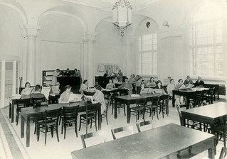 Zeitungslesesaal im Spreeflügel vor 1943, Berliner Stadtbibliothek