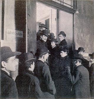 Eingang zur Jüdischen Lesehalle