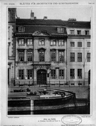 Wohnhaus Neu-Kölln am Wasser 10