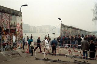 Mauer am Potsdamer Platz