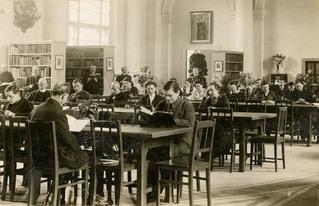 Lesesaal 1922, Berliner Stadtbibliothek