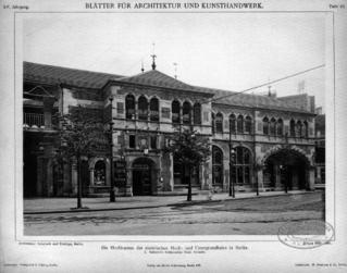 Hochbahnhof Schlesisches Tor (Südseite)