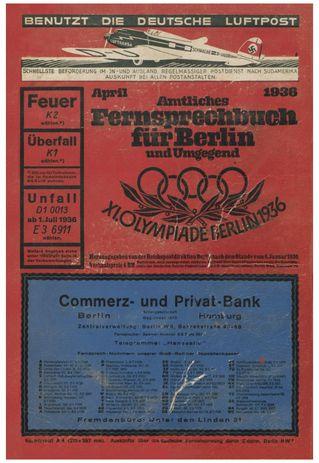 Amtliches Fernsprechbuch für Berlin 1936