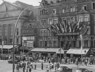 Internationale Filmfestspiele 1955. Kurfürstendamm
