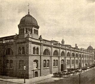 Berlin - Zentralmarkthalle (1896)